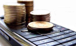 Юридические лица не могут отправлять средства с телефона.