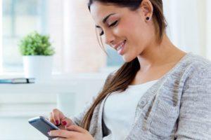 Ознакомится со всей информацией о услугах связи можно прямо с телефона.