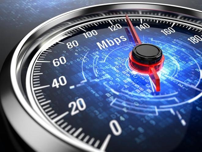Счетчик скорости интернета