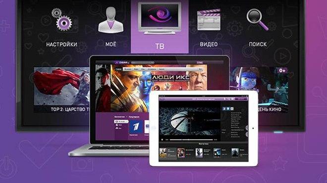 Интерактивное ТВ Ростелеком для телевизора, планшета, ноутбука