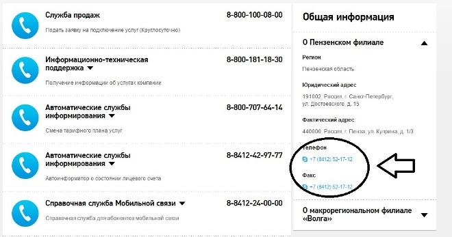 Контакты техподдержки Ростелеком