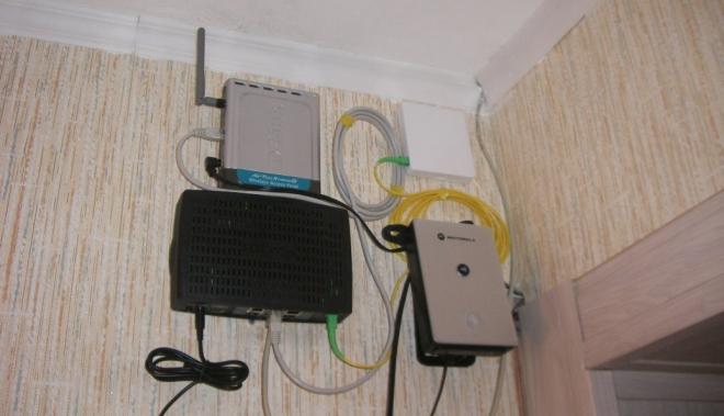 Коммутация оборудования для интернета