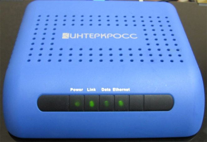 ADSL-модем Интеркросс