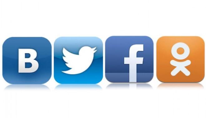 Популярные соцсети