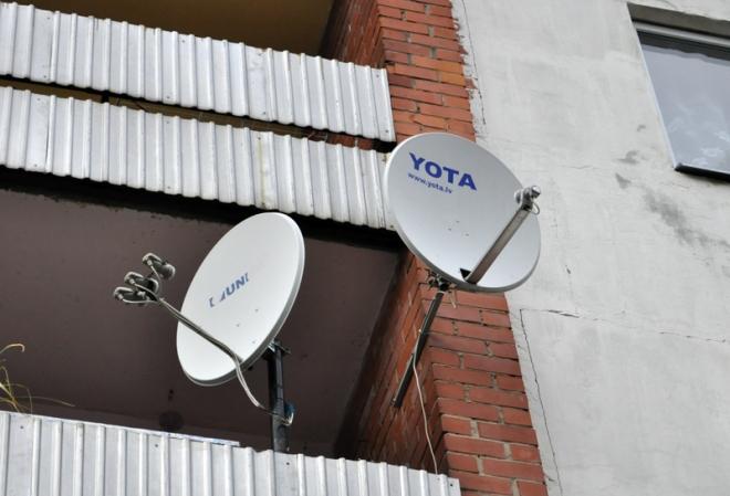 Спутниковая антенна для Йота