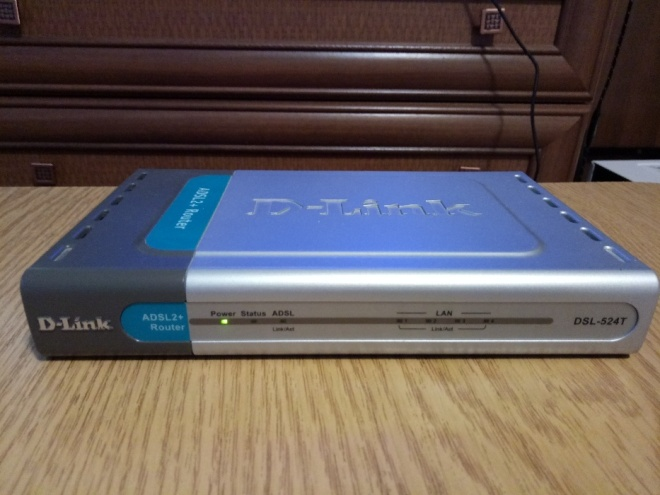 Роутер D-Link DSL-524T