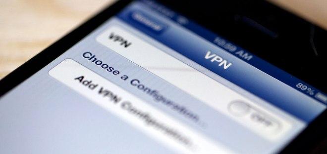 Телефон с VPN