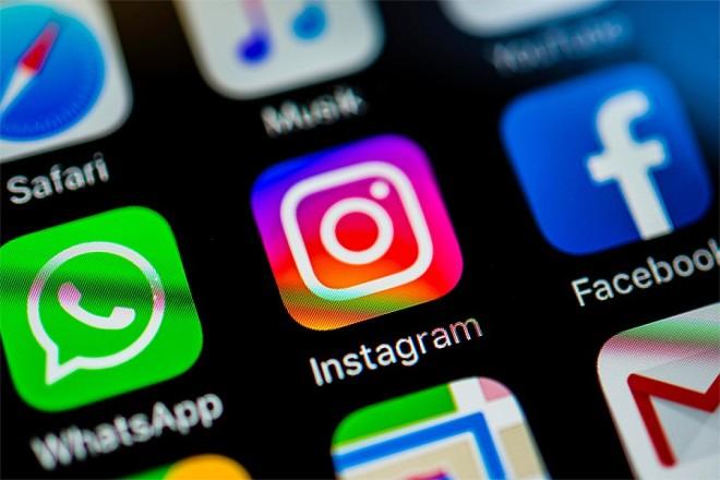Whatsapp, Instagram, YouTube