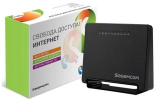 Характеристики и настройка роутера Ростелеком Sagemcom fast 2804 v7