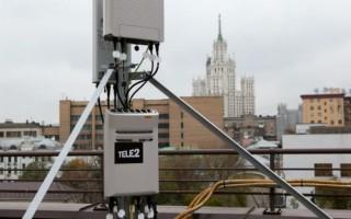 Зона покрытия интернетом стандартов 2G, 3G и 4G от Теле2 в Московской области