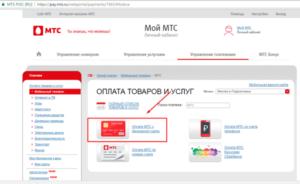 Зачисление на Мобильные ТелеСистемы.