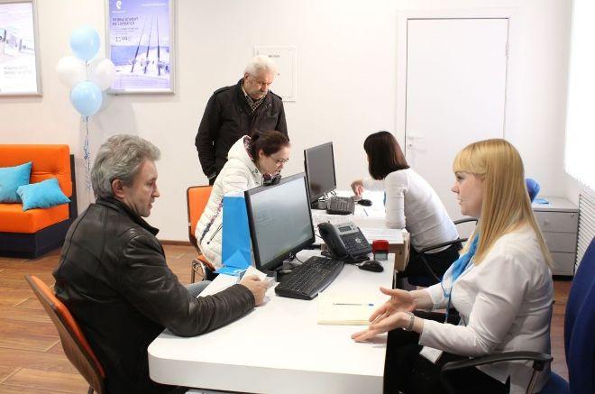 Обслуживание клиентов в офисе Ростелеком