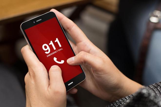 Набор номера 911