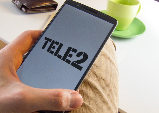 Телефон с симкой Теле2